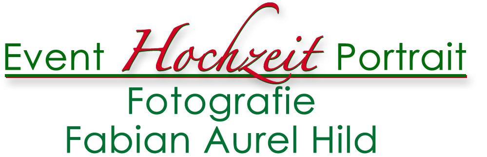 Logo Event Hochzeit Portrait Fotografie Fabian Aurel Hild
